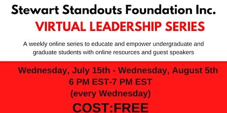 Stewart Standouts Virtual Leadership Series tickets
