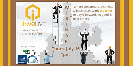 ihiveLIVE:   An e-commerce sharing platform tickets