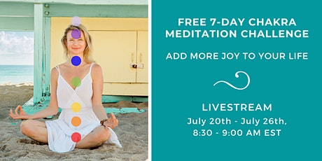 Free 7-Day Chakra Meditation Challenge ingressos
