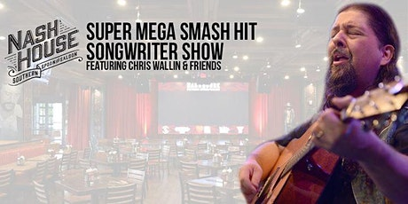 Super Mega Smash Hit Songwriter Night July 29th **Hall of Fame Aaron Barker tickets