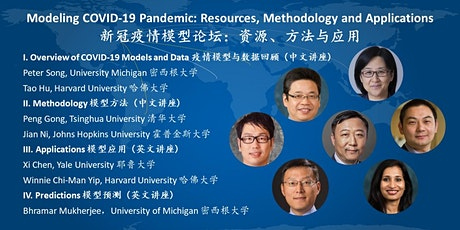 Modeling COVID-19 Pandemic: Resources, Methodology and Applications tickets