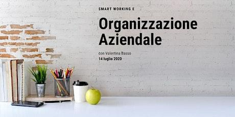 Smart Management e Organizzazione Aziendale biglietti