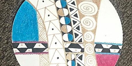Pattern Drawing Klimt-Style-Online Class tickets