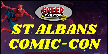 St Albans Comic-Con 2021 billets