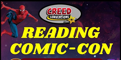 Reading Comic-Con 2021 tickets