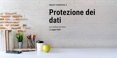 Smart Working e Protezione dei Dati biglietti