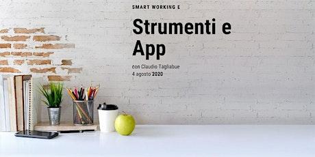 Strumenti e App per lo Smart Working tickets