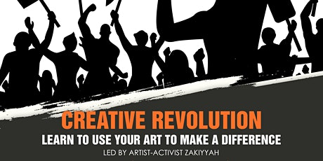 Creative Revolution: Learn to Use Your Art to Make a Difference tickets