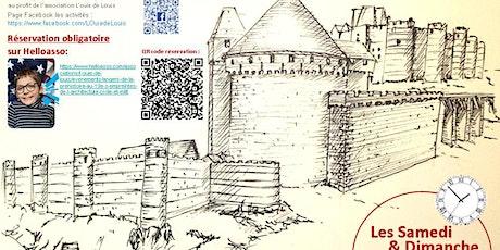 Angers, de la préhistoire au 19e s, empreintes de l'architecture civ & mili billets