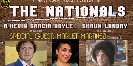The Nationals Improv Comedy with Marilet Martinez! tickets