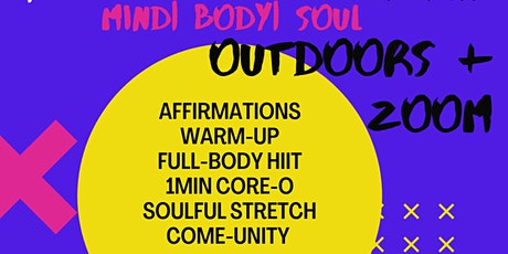 Body By Bennu| AfroHIIT + Dance | Outdoor + Zoom Class tickets