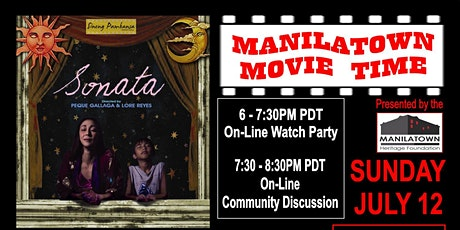 "Manilatown Movie Time presents ""Sonata"" tickets"
