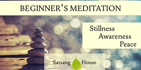 Beginner's Meditation Course (Online) tickets