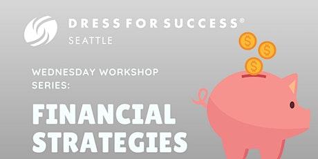 Free Virtual Workshop - Financial Strategies With Rashida Gaye tickets