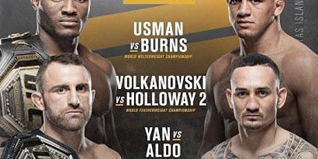 UFC 251 at Bobby McCann's - Tickets Now on Sale tickets