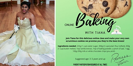 Baking with Tiana tickets