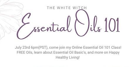 Essential Oils 101 *Online* tickets