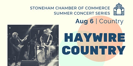 Stoneham Chamber Drive-In Concert Series:  Haywire Country tickets