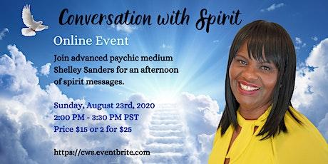 Conversation with Spirit tickets