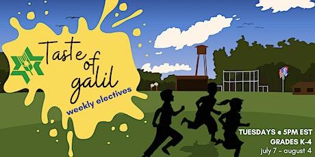 Taste of Galil Weekly Electives biglietti