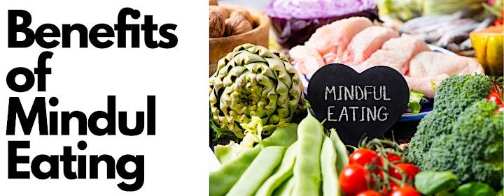 Mindful Eating Basics Zoom Online Workshop with Dr Heidi Douglass image