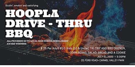 Hoopla BBQ Drive Thru tickets