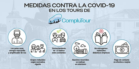 Free Tour Alcalá Insólita (horario 19:00 tarde - julio y agosto 2020) entradas