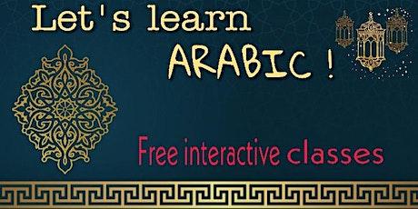 Online Arabic Class - Beginner tickets