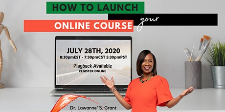 How to Launch your ONLINE COURSE tickets