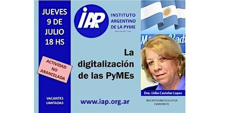 La  Digitalización de las Pymes entradas