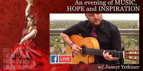 An evening of music, hope and inspiration w/ Juneyt Yetkiner billets