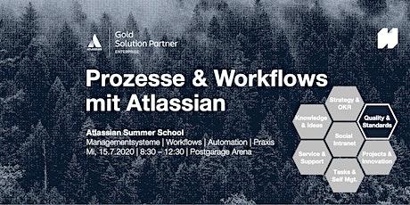 Prozesse und Workflows mit Atlassian Tickets
