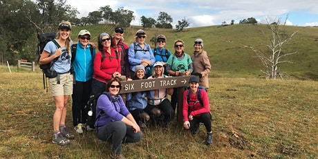 Women's Six Foot Track Day Hike //  Saturday 19th September tickets