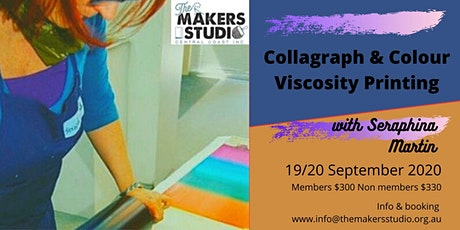 Collagraph & Colour Viscosity Printing - Seraphina Martin tickets