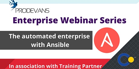 Ansible Automation For Enterprise Operation Webinar tickets