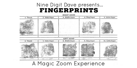 Nine Digit Dave's Fingerprints tickets