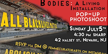 BODIES: A LIVING INSTALLATION POP UP PHOTOSHOOT tickets