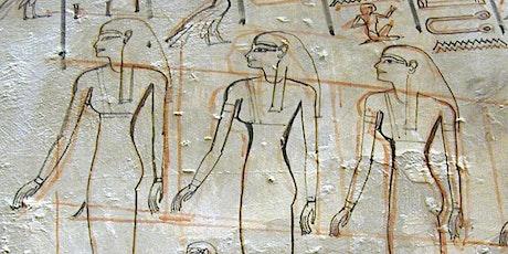 "Atelier ""Art égyptien"" billets"
