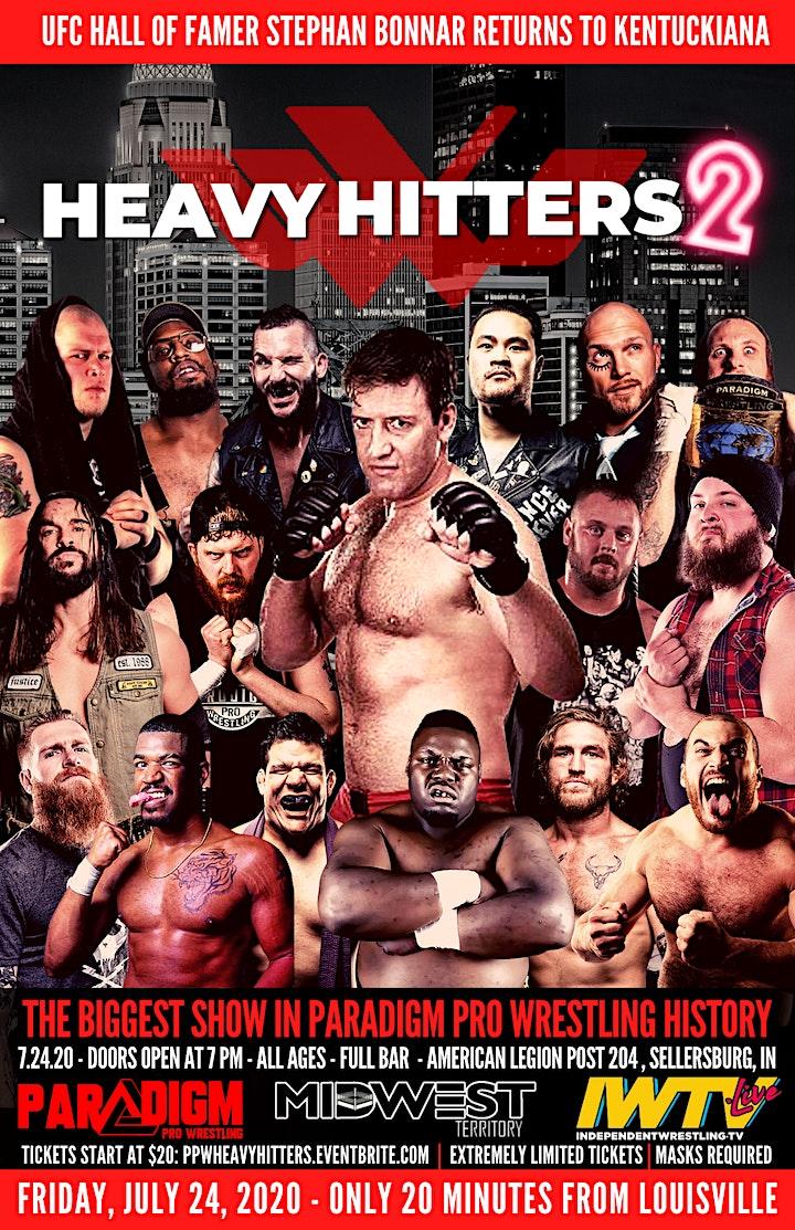 Paradigm Pro Wrestling - Heavy Hitters Tournament - Sellersburg, IN image