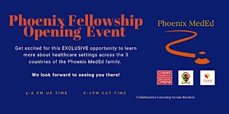 Phoenix MedEd Fellowship Launch tickets