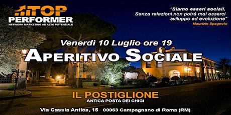 APERITIVO SOCIALE TOP-PERFORMER biglietti