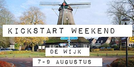Kickstartweekend De Wijk tickets