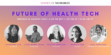 WEBINAR - Future of Health Tech tickets