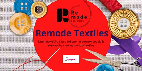 Remode Textiles  presents The Design Process with Designer Eloise Park tickets