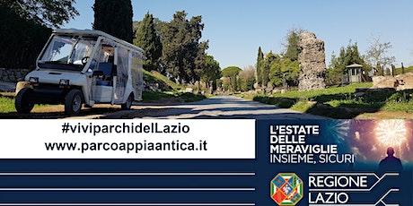 VIVI I PARCHI DEL LAZIO.  In minicar sull'Appia Antica biglietti