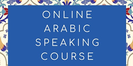 Arabic Speaking Class tickets