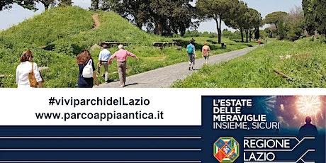 VIVI I PARCHI DEL LAZIO.  Passeggiata archeologica sull'Appia Antica biglietti