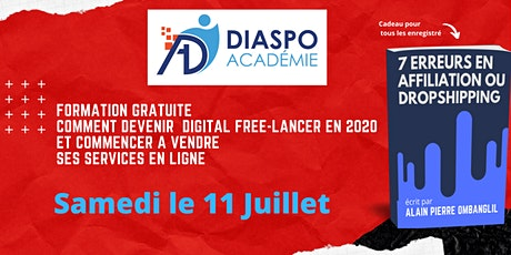 Formation Gratuite Comment Devenir  Digital Free-lancer en 2020 billets
