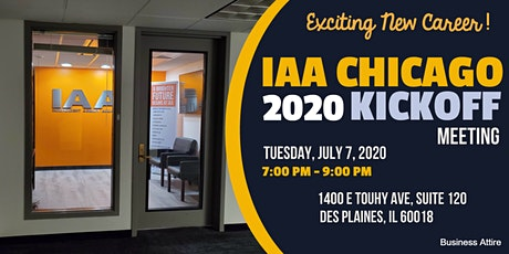 IAA Chicago 2020 Kickoff Meetings! Exciting New Career Opportunity! tickets