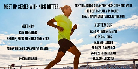 MEET UP SERIES WITH NICK BUTTER - Bournemouth tickets